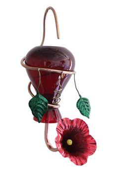 How could a hummingbird resist this new feeder, available at Duncraft?