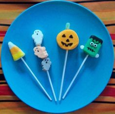 Kitchen Fun With My 3 Sons: Spooky Marshmallow Pops!