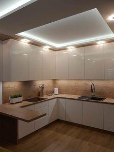 Simple Kitchen Design, Luxury Kitchen Design, Kitchen Room Design, Home Room Design, Kitchen Cabinet Design, Home Decor Kitchen, Interior Design Kitchen, Home Kitchens, Modern Kitchen Cabinets
