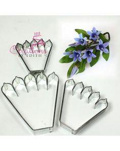 Géranium des prés fleur cutter sugarcraft décoration gâteau pack de 2 cutters
