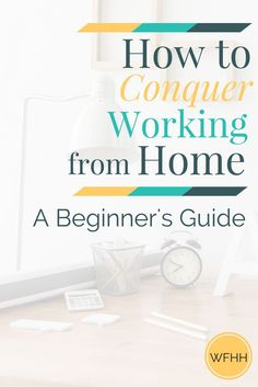 to Conquer Working from Home: A Beginner's Guide New to the world of remote working? Learn how you can conquer working from home while creating a healthy, happy, and productive home office environment!Remote access Remote access may refer to: Work From Home Tips, Stay At Home Mom, Make Money From Home, How To Make Money, Home Based Business, Business Ideas, Online Business, Business Women, Business Laptop
