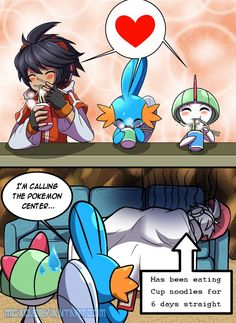 Sorry Gardevoir, it's the rule of the internet. But luckily, Swampert is there to look after you : 3note: Yes, I purposely search those images for the sake of this comic.