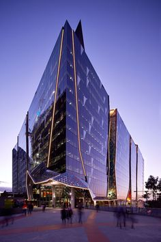 National Australia Bank, 700 Bourke St, Melbourne by Woods Bagot - Australia - Completed Buildings - Office