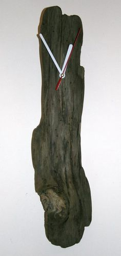 Small driftwood clock Mais