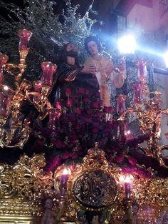 Ntro. Padre Jesús de la Oración en el Huerto, de #Linares (#Andalucía). Foto: Ernesto Pérez Muñoz.