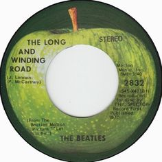 The Long And Winding Road - The Beatles Road Music, 70s Music, 45 Records, Vinyl Records, Kinds Of Music, I Love Music, The Beatles 1, Beatles Albums, Music Album Covers
