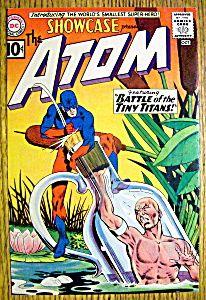 The Atom Comic Cover-October 1961-Atom & Tiny Titans