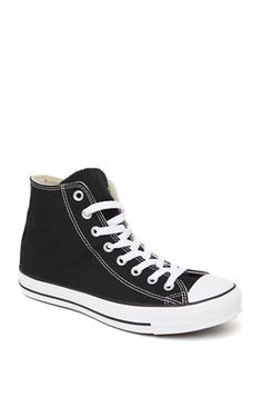 2ade23b4636 Converse All Star High Top Black Sneakers ( 55) ❤ liked on Polyvore  featuring shoes