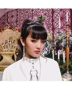 [ Empire mv is finally out guys! Thank you for having me😝 Love you lotssss💖 Kpop Girl Groups, Korean Girl Groups, Kpop Girls, Extended Play, Euna Kim, Kim Min Hee, Soyeon, I Have A Crush, Party Entertainment