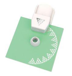 Amazon.com: Martha Stewart Crafts Circle Edge Paper Punch, Diamond Lace