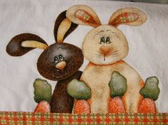 Artesanato com Criatividade: Moldes de Patch Applique Patterns, Patches, Bunny, Quilts, Painting, Easter Crafts, Easy Crafts, Applique Templates, Happy Easter Day