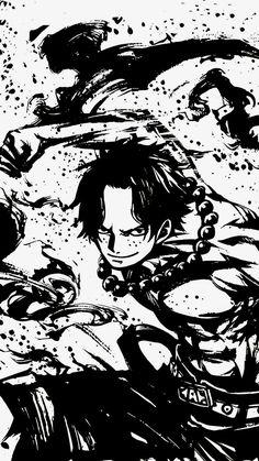 One piece Ace Manga Anime, Anime One, Manga Art, One Piece Seasons, Ace One Piece, Photo Manga, One Piece Tattoos, One Piece Wallpaper Iphone, One Piece Drawing
