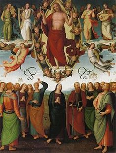 Perugino - La Pala di Sansepolcro è un dipinto a olio su tavola (332,5x266 cm) di Pietro Perugino, databile al 1510 circa e conservata nel Duomo di Sansepolcro.