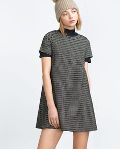 ZARA - PROMOCIJA - JACQUARD DRESS