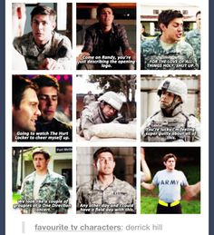 Derrick is my favourite. Enlisted.