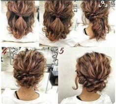 Haar – Mother Of Groom Wedding Hair - hair lengths Groom Wedding Hair, Wedding Nails, Wedding Makeup, Prom Makeup, Casual Wedding Hair, Eyebrow Makeup, Wedding Beauty, Wedding Bridesmaids, Updo Hairstyles Tutorials