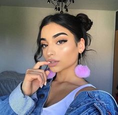Hairstyles and Beauty: The Internet`s best hairstyles, fashion and makeup pics are here. Makeup Goals, Makeup Inspo, Makeup Inspiration, Makeup Tips, Sexy Eye Makeup, Beauty Makeup, Face Makeup, Hair Beauty, Hipster Tattoo