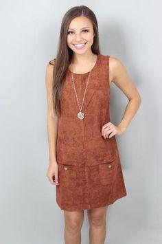 The Rikki Suede Dress: $64