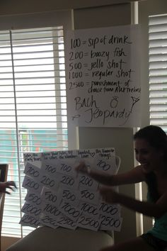Bachelorette Party Games! this looks like so much fun. dani i can see you creating this :)