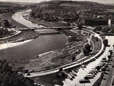 Most Dębnicki, Kraków - 1962 rok, stare zdjęcia