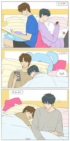 Namjoon, Seokjin, Bts Photo, Foto Bts, Fanfic Namjin, Bts Ships, Bts Anime, Manga Poses, Vkook Fanart