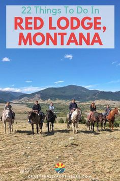 Here are 22 amazing things to do in Red Lodge, Montana for an awesome mountain town vacation! Everything you need to know - including where to eat and where to stay. Red Lodge Montana, Stuff To Do, Things To Do, Top Places To Travel, Horse Care Tips, Family Adventure, Adventure Travel, Road Trip Usa, Family Travel