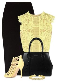 Erdem Caissa Guipure Lace Top by cassandra-cafone-wright on Polyvore featuring Erdem, The Row, Jimmy Choo and Allurez