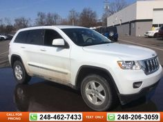 2013 Jeep Grand Cherokee Laredo 36k miles $23,597 36781 miles 248-462-7433 Transmission: Automatic  #Jeep #Grand Cherokee #used #cars #GollingChrysler #Waterford #MI #tapcars