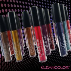 Get in formation with metallics on metallics.  Which shade to choose?   What's your recommendation, Kleanistas? :) #kleancolor #metallic #madlymatte #madlymattelipgloss #metalliclipgloss #lipgloss #lip #toughchoices #makeup #cosmetics #beauty