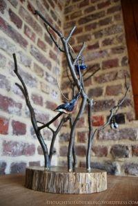 DIY branch jewellery tree #tree #DIY #tidy #wood