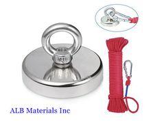 Rare Earth Magnets Application - ALB Materials Inc Magnet Fishing, Rare Earth Magnets, Neodymium Magnets