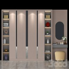 Hall Furniture, Wardrobe Furniture, Bedroom Furniture Design, Wardrobe Room, Wardrobe Design Bedroom, Wardrobe Door Designs, Bedroom Cupboards, Dressing Room Design, Cupboard Design