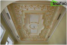 Varianty designu stropů od renesance až hi-tech