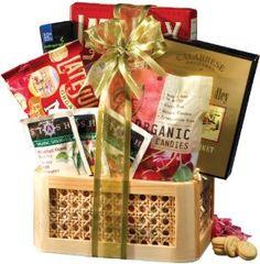 Housewarming gift:Broadway Basketeers Organic and Natural Healthy Gift Basket