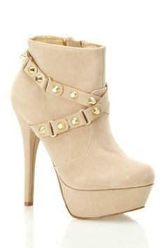 Nude Ankle Boot