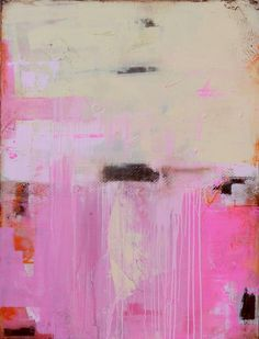 'Sweet Emotion' abstract painting by artist   Erin Ashley
