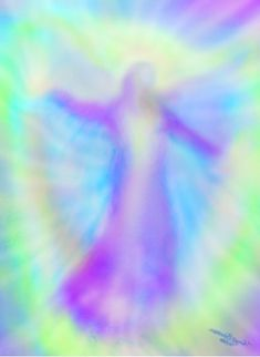 "Angel Art by Glenyss Bourne. The Angel of the Dance ""Enjoy the fullness of every moment in this, the Great Dance of Life."""
