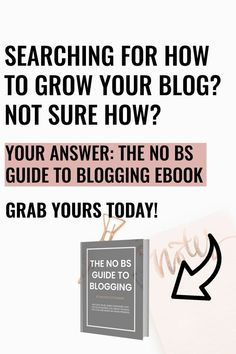 Grow your blog with my ebook: Gain clarity one what you want, define your online presence and create a purpose that aligns with your mission!