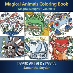 Magical Animals Coloring Book