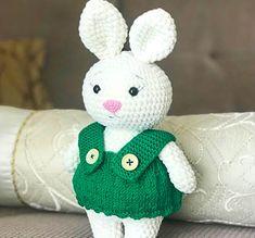Baby pluto dog amigurumi free crochet pattern - Lovelycraft Crochet Gratis, Crochet Amigurumi Free Patterns, Free Crochet, Bunny Plush, Cute Plush, Bunny Toys, Crochet Elephant Pattern, Single Crochet Decrease, Crochet Baby Toys