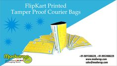 """FlipKart Printed Tamper Proof Courier Bags available for sale at Modwrap. These bags can be redone printed with alluring outlines according to customers' necessity. They are broadly utilized by E-Commerce Websites & Logistic Companies. These bags are available in sizes of 9""""x12""""x60Microns.For complete details visit: http://modwrap.com/flipkart-printed-tamper-proof-courier-bags/21942/0"""