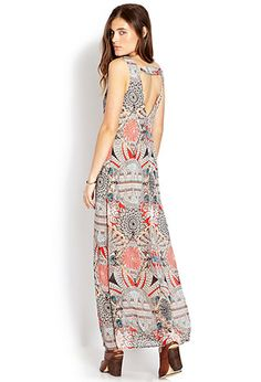 $27 - Eclectic Beauty Maxi Dress | FOREVER21 - 2000063312