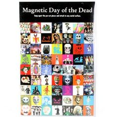 Magnetic Day of the Dead #halloween #dayofthedead