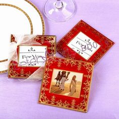 Royal Wedding Coaster Hot Sale BETER-BD014 Wholesale Wedding Favours, Birthday Party Favors