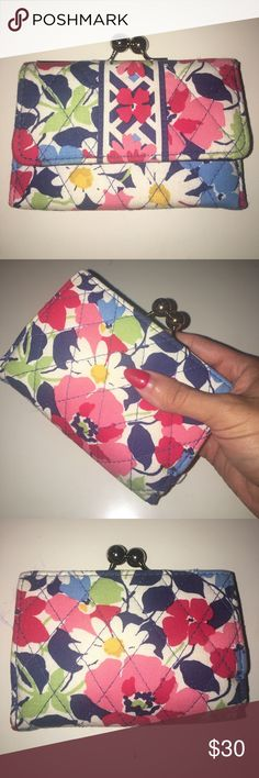 Vera Bradley wallet Brand new floral authentic vera Bradley wallet small size wallet Vera Bradley Bags Wallets