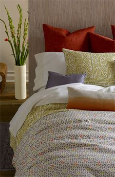 Blissliving Home 'Isla/Flora' 300 Thread Count Duvet Set available at #Nordstrom
