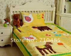 Free Shipping  winter quilt applique  Quilted kids embroidery  patchwork applique  2pcs set $99.00