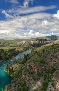 The Flathead River, Montana
