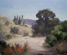 """DESERT PASS"" - Original Fine Art for Sale - © by Doug Carter"