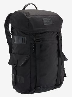 71b2b1e40e Burton Annex Backpack shown in True Black Triple Ripstop Hiking Backpack,  Backpack Bags, Backpack